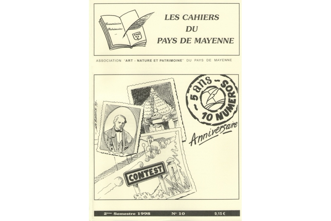 Cahier n° 10 - Couverture