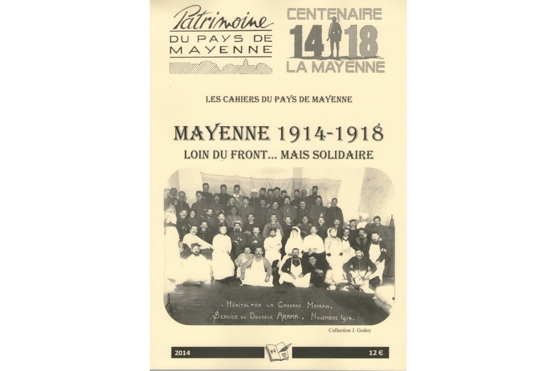 Cahier n° 41, Mayenne 1914-1918 - Couverture