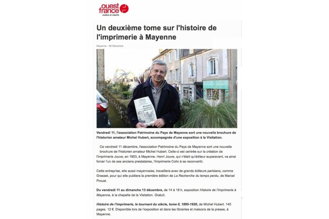 Imprimerie De L Ouest Parisien travaux et recherches - cahier n° 42 : histoire de l